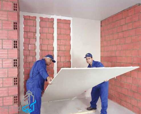 دیوار پوششی کناف