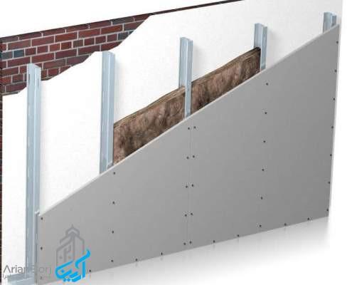 ویژگی دیوار پوششی