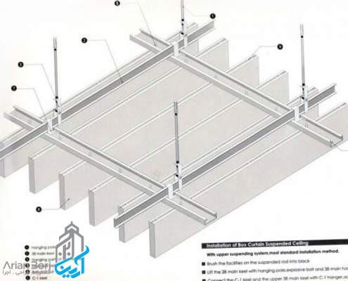 اجرای کناف سقف
