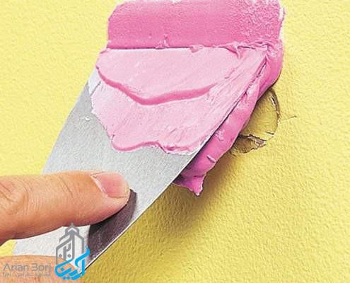 ترمیم دیوارهای خشک