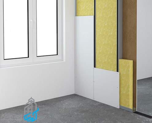 انواع دیوارهای خشک